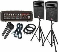 PA Public address sound system rental